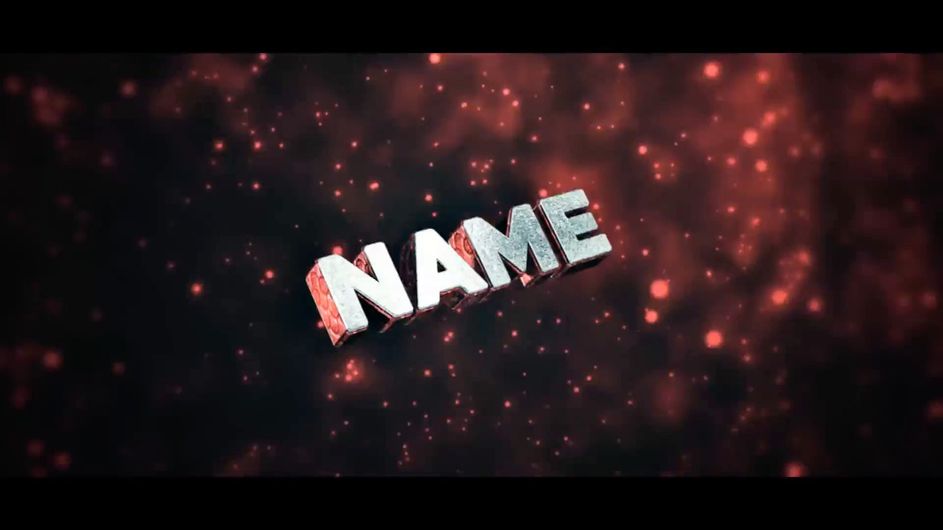 FREE Red Space Sync Intro Template Cinema 4D After Effects 2015