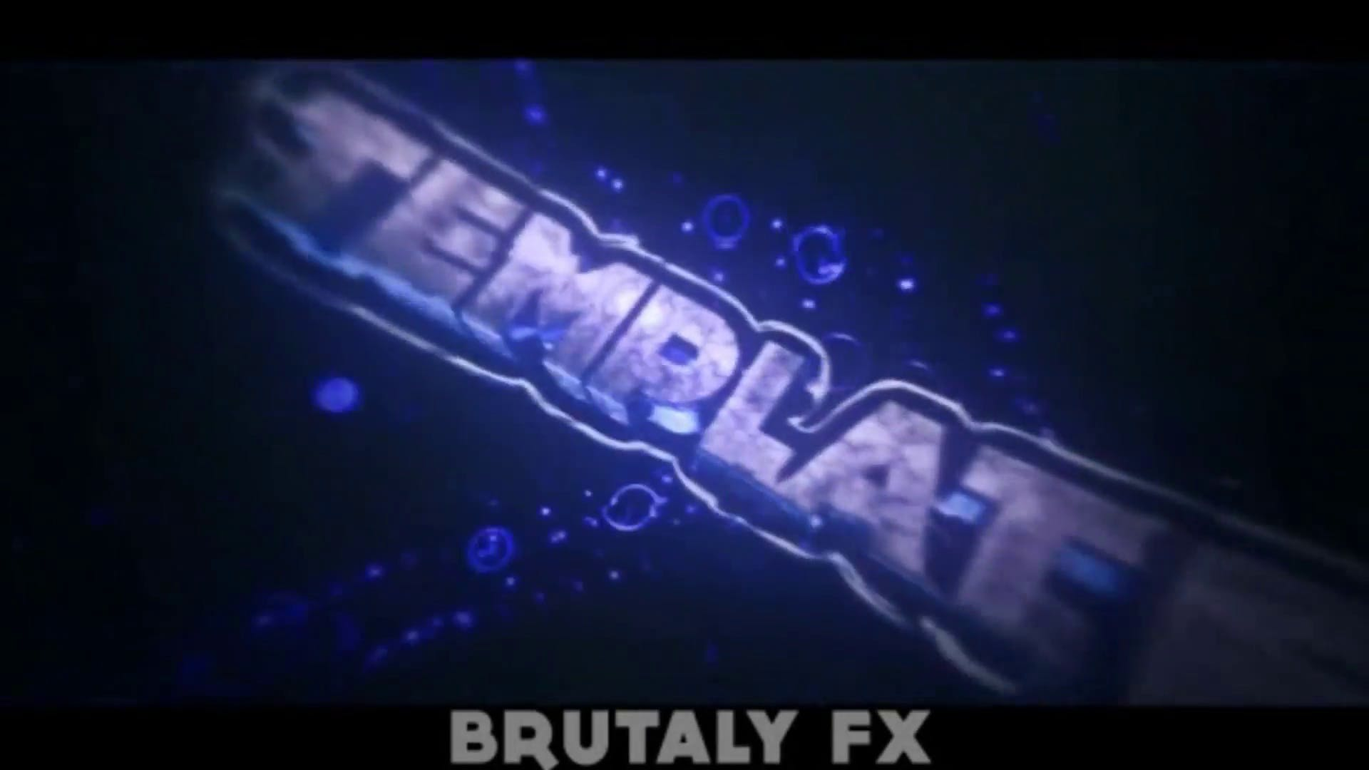 FREE Underwater Bubbles Cinema 4D After Effects Intro Template