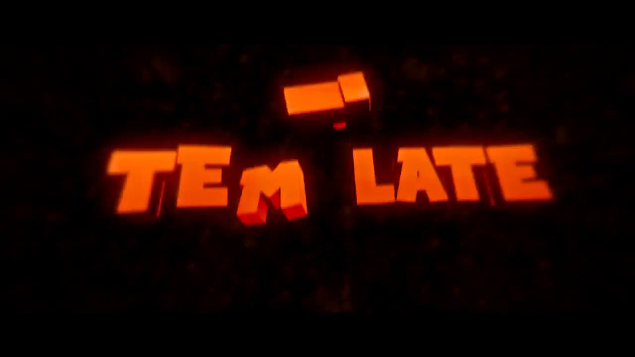 FREE Orange & Bold Cinema 4D After Effects Intro Template