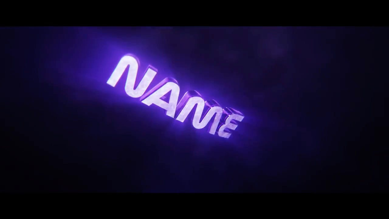 FREE Purple Shockwave Cinema 4D After Effects Intro Template
