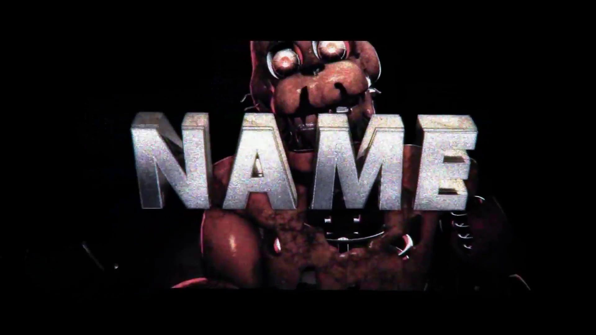 Five Nights At Freddys Sony Vegas Intro Template Free Download