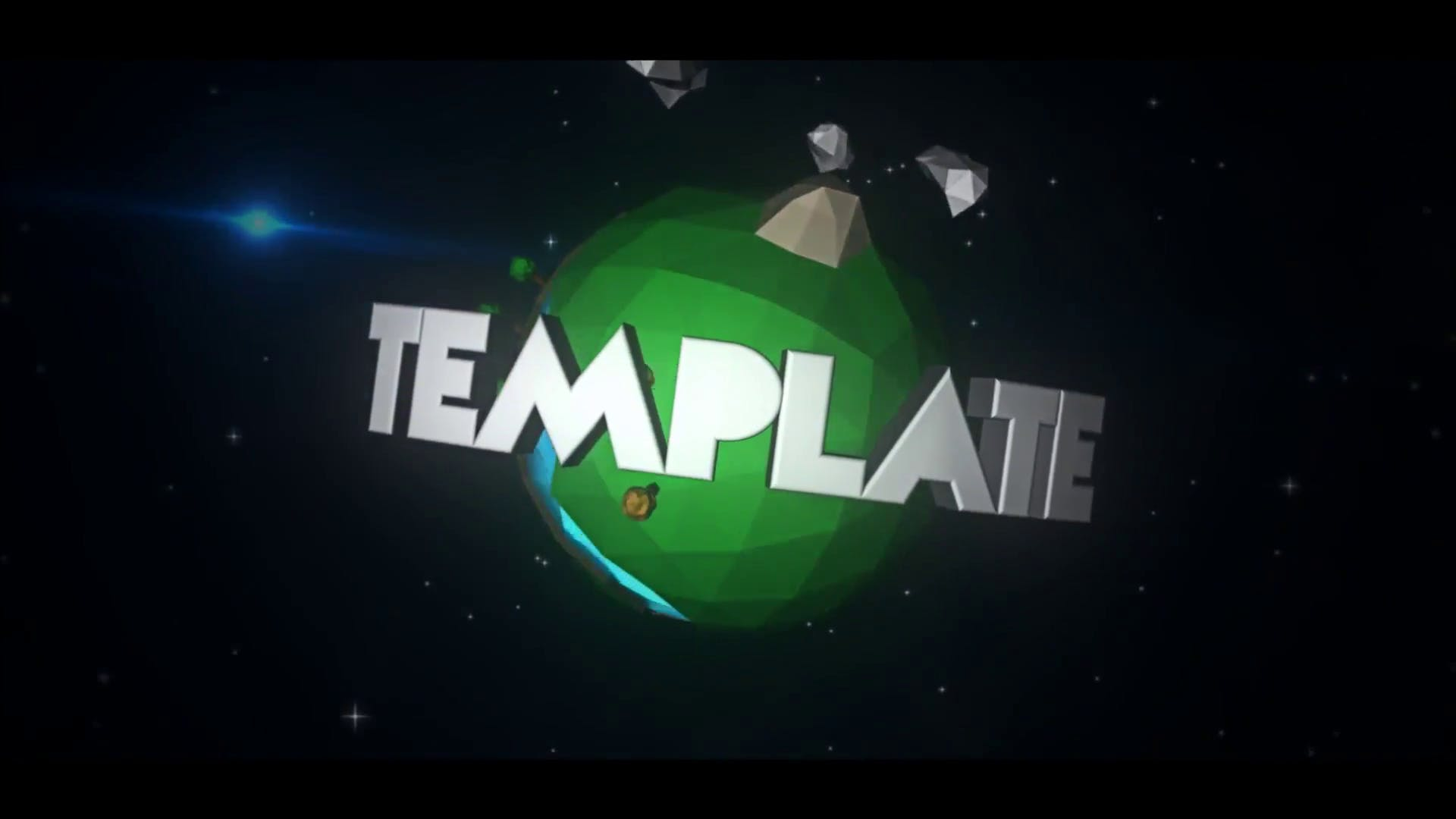 FREE 3D World Cinema 4D After Effects Intro Template