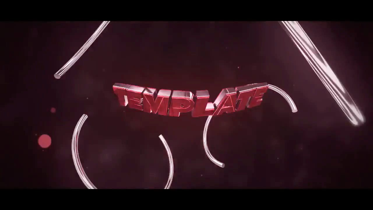 Red Shockwave Cinema 4D After Effects Intro Template