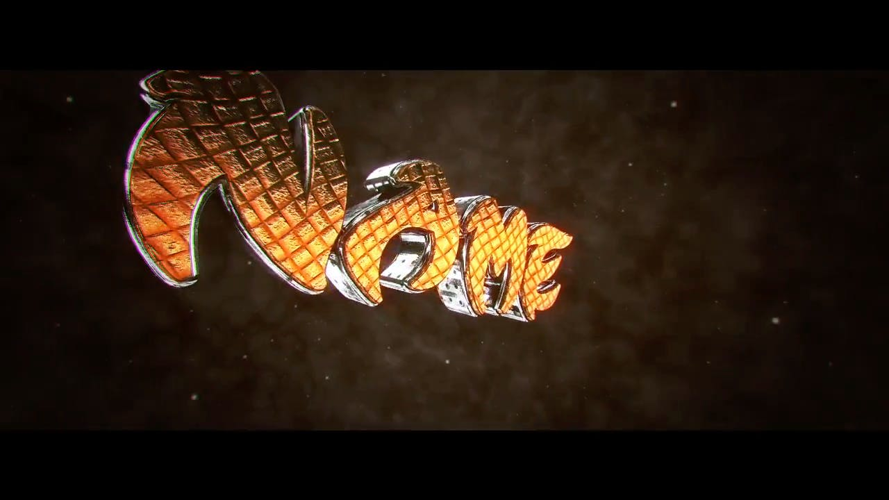Gold Shockwave Fire Cinema 4D After Effects Intro Template
