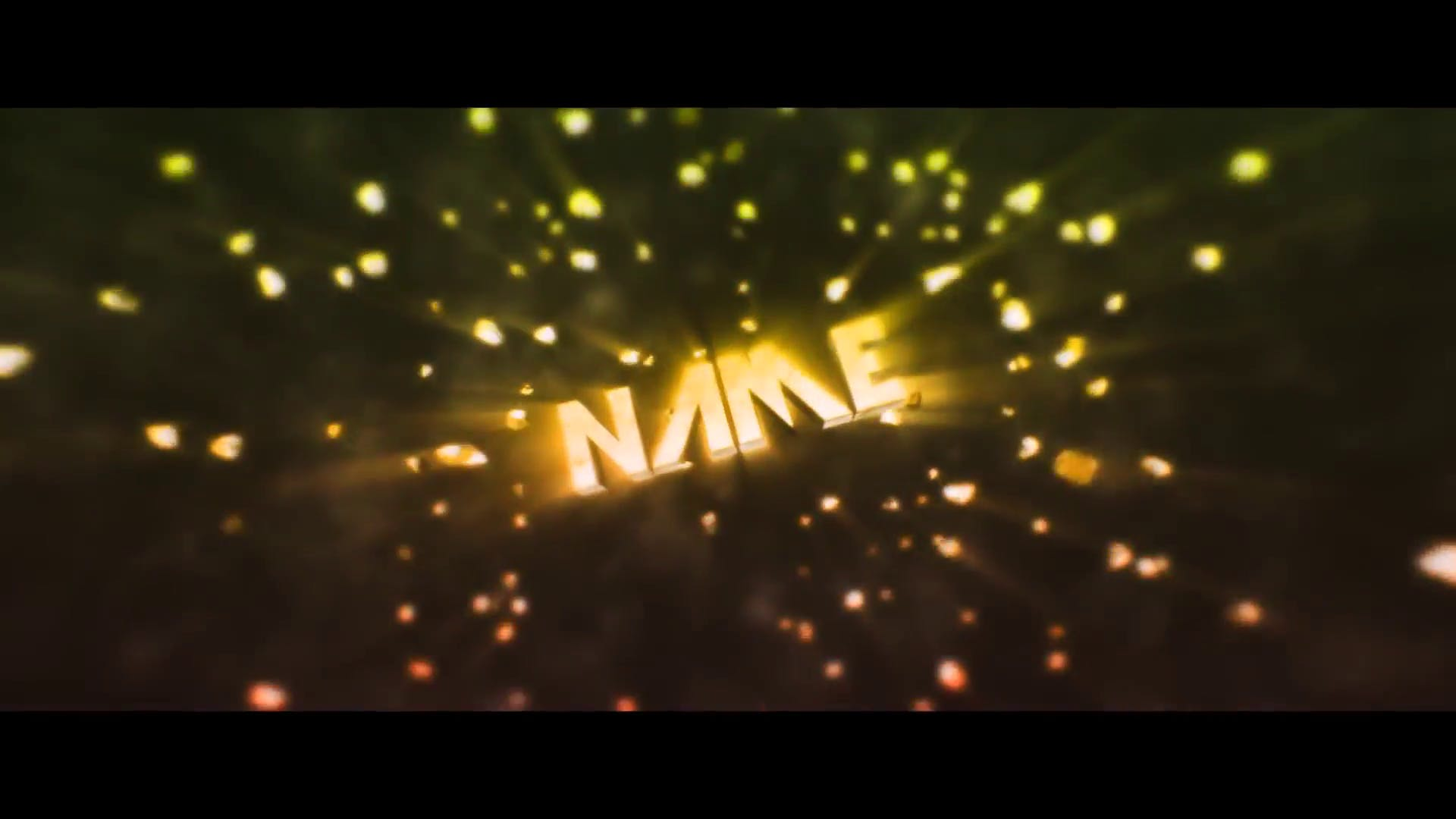 FREE Space Particles Red Cinema 4D After Effects Intro Template 2016