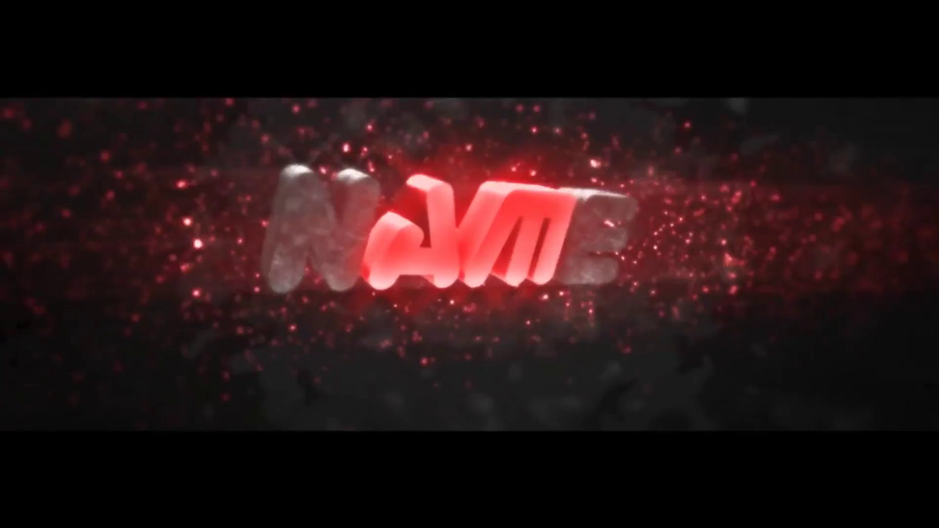 FREE Multicolor Particles Cinema 4D After Effects Intro Template