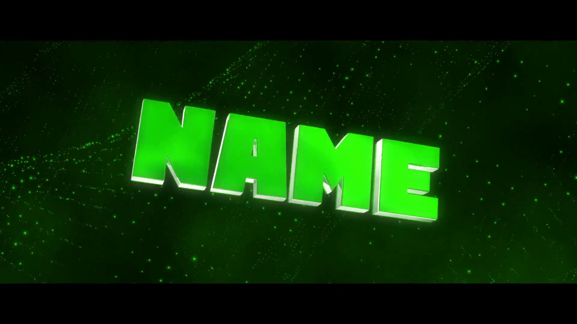 FREE Green Shockwave Intro Template Cinema 4D After Effects