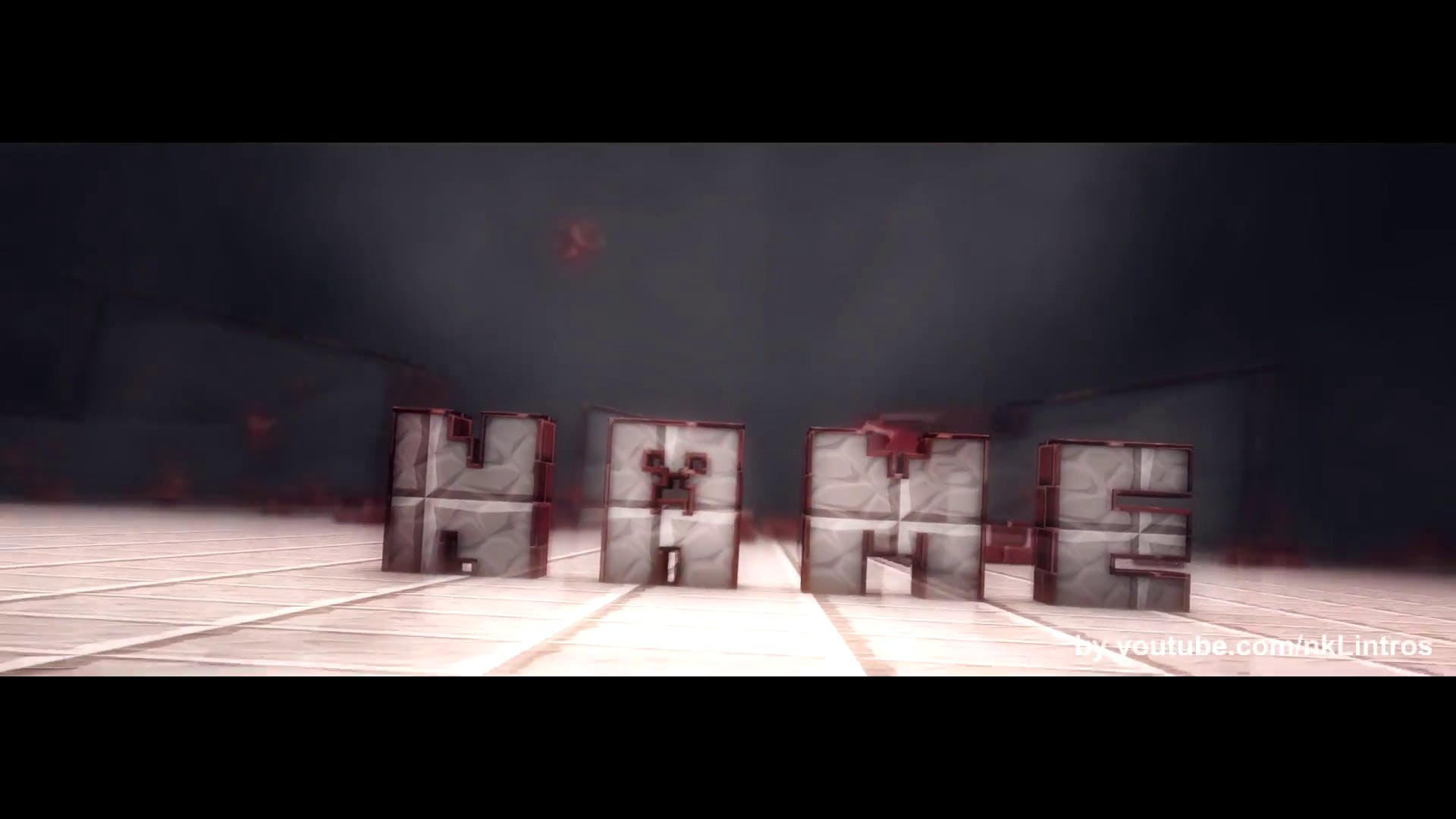 Minecraft Cinema 4D After Effects Intro Template FREE DOWNLOAD
