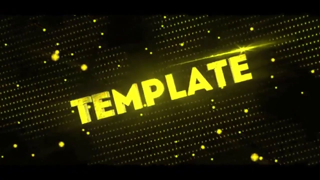 Simplistic Blender ONLY Multicolor Intro Template FREE DOWNLOAD