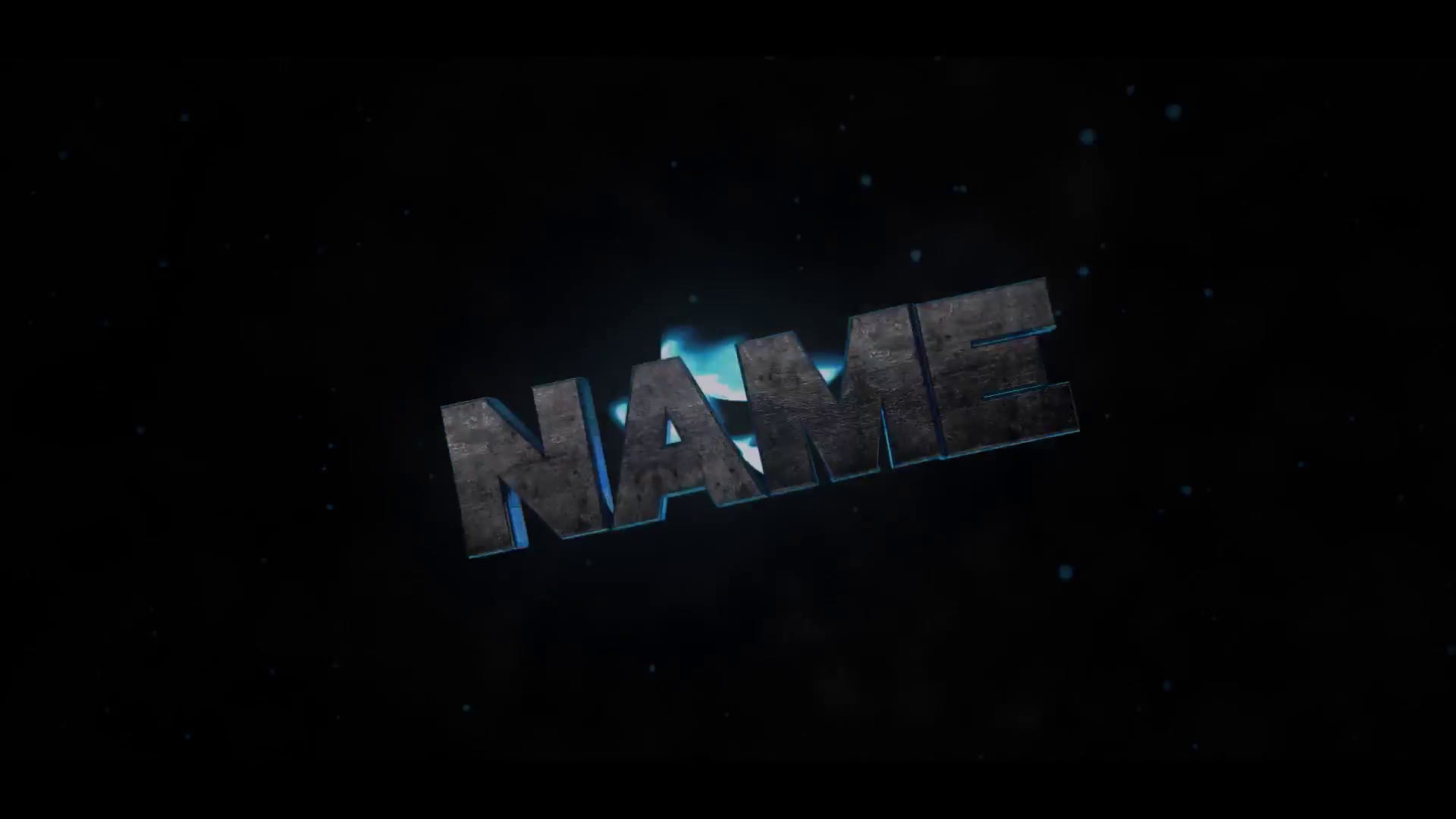 Dark Blue Cinema 4D After Effects Shockwave Intro Template FREE DOWNLOAD
