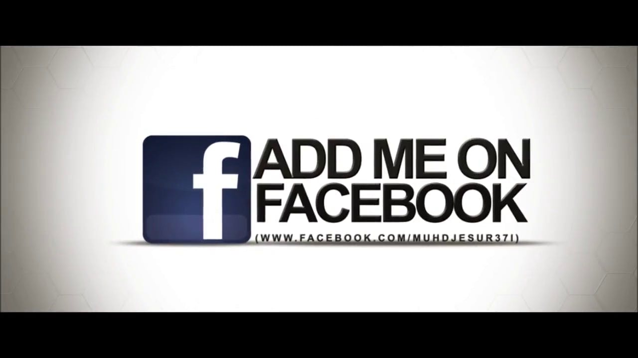 Free YouTube, Facebook and Twitter 3D Outro template