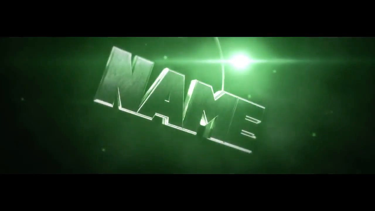 FREE Epic Green Cinema 4D After Effects Intro Template