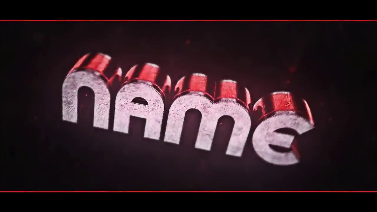 Neon Blender ONLY Intro Template FREE DOWNLOAD