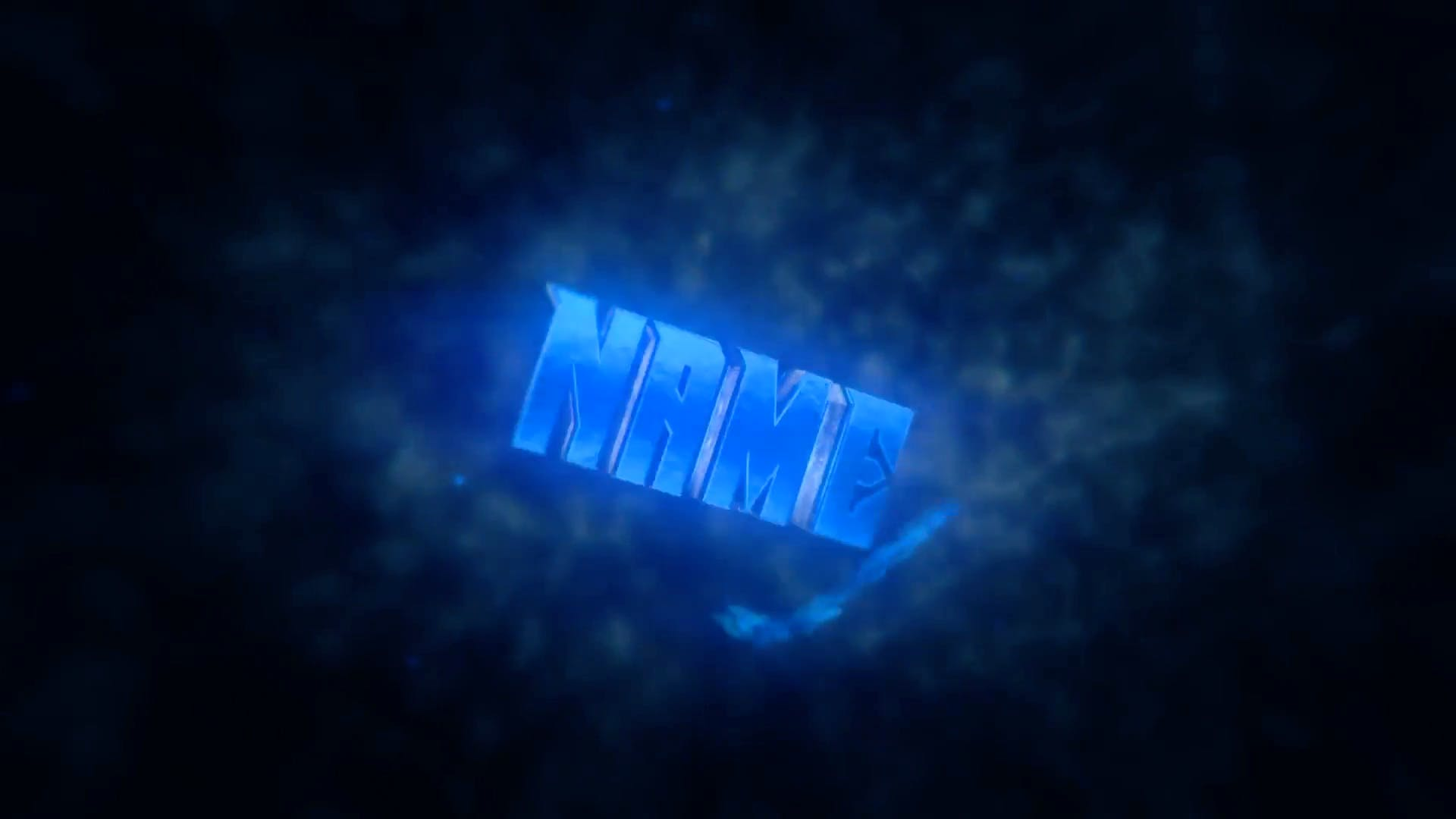 White Blue Shockwave Intro Template Cinema 4D After Effects FREE DOWNLOAD