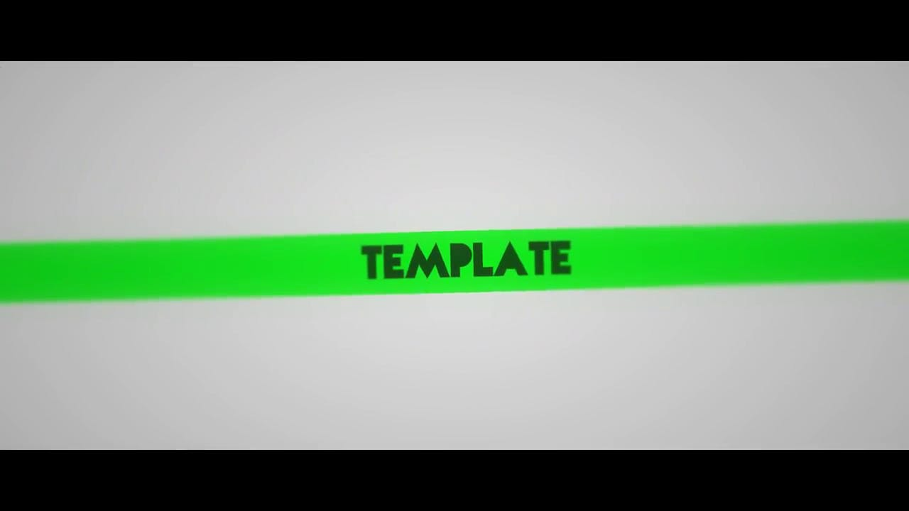Blender ONLY 2.5D Banner Style Intro Template FREE DOWNLOAD