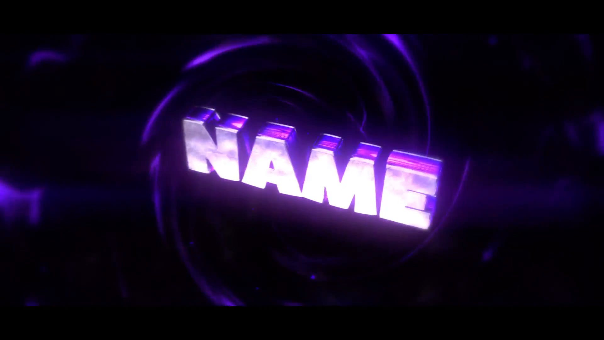 Purple Swirls Cinema 4D After Effects Intro Template FREE DOWNLOAD