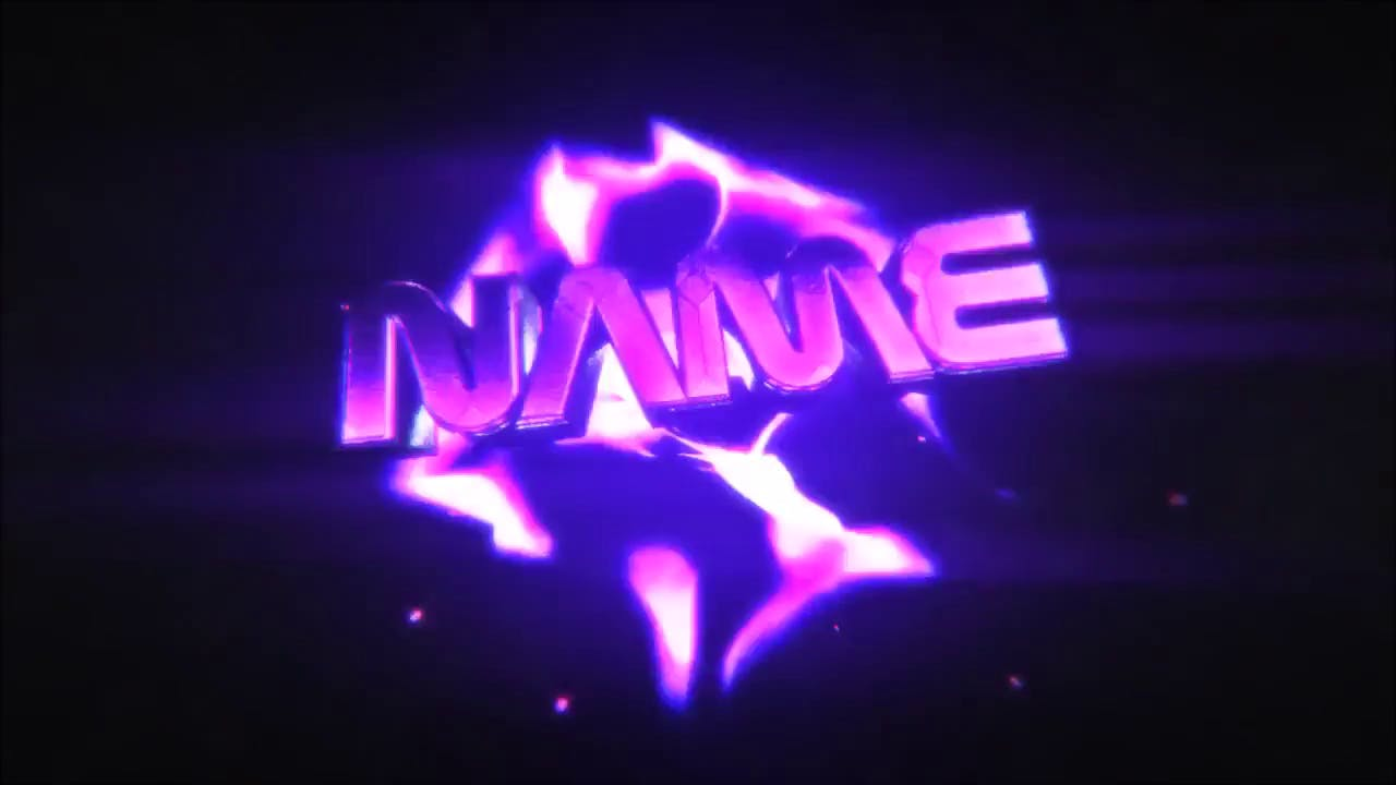 Purple Shockwave Intro Template C4D AE FREE DOWNLOAD