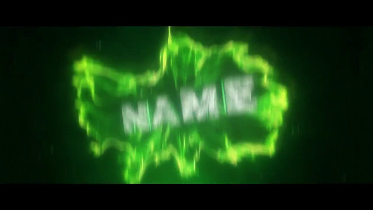 Sync Shockwave Green Intro Template Cinema 4D After Effects