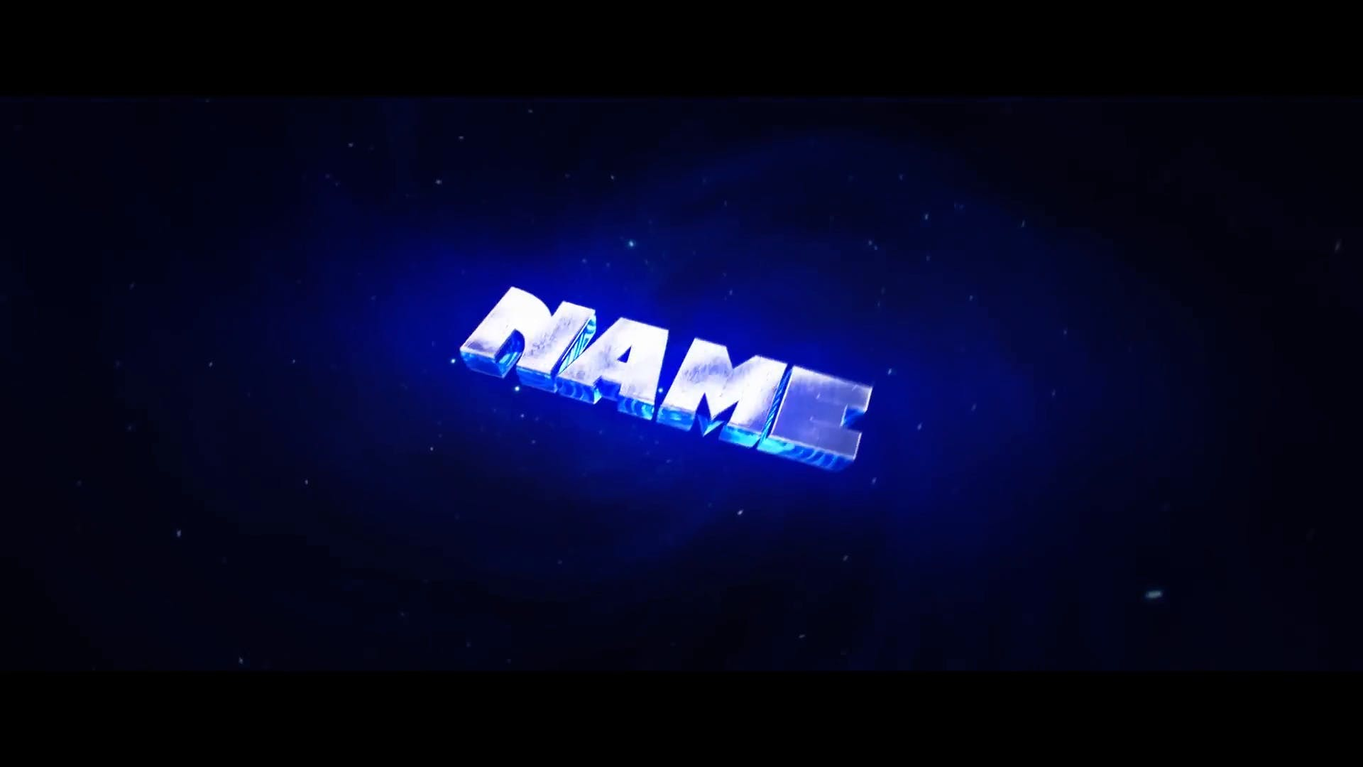 Sync Particles Space Intro Template Cinema 4D After Effects 2