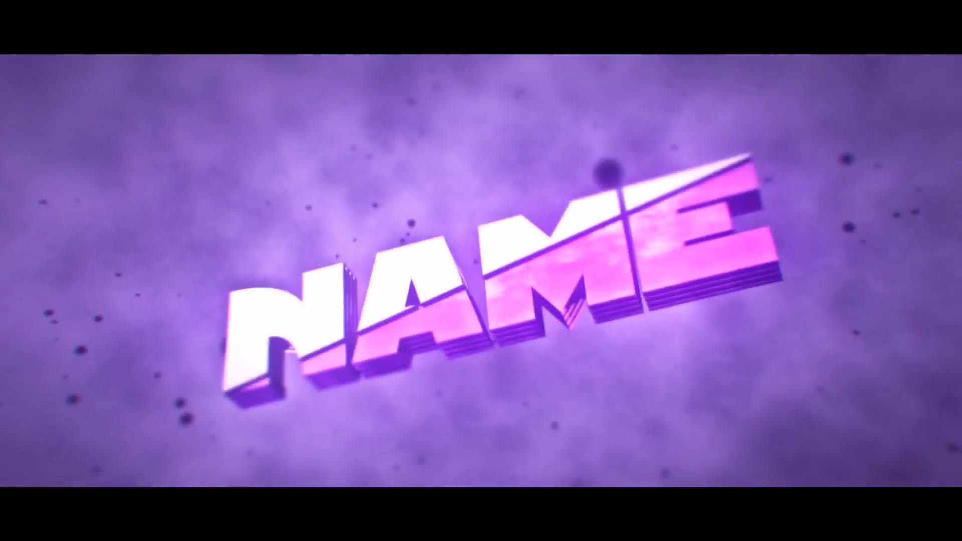 Purple Shockwave Intro Template Cinema 4D After Effects 2016