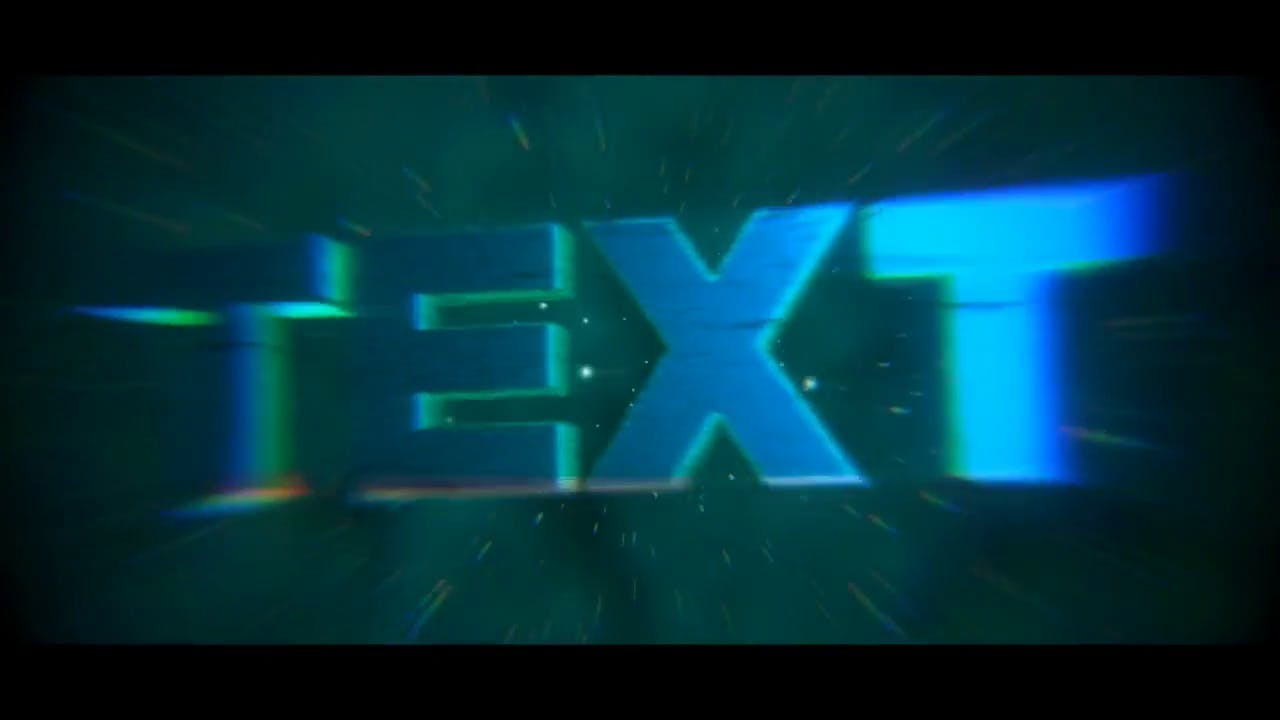 Glitch Blender ONLY Intro Template FREE DOWNLOAD