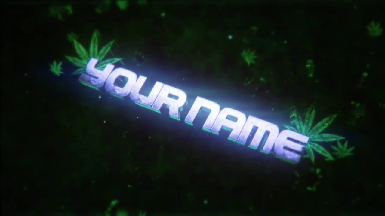 Sync WEED Intro Template Cinema 4D After Effects FREE DOWNLOAD