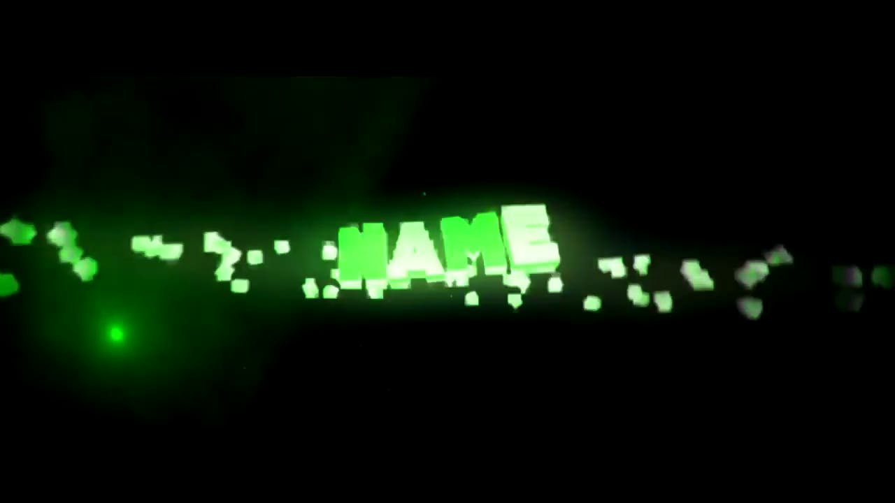 Fire Green Cinema 4D After Effects Intro Template FREE DOWNLOAD