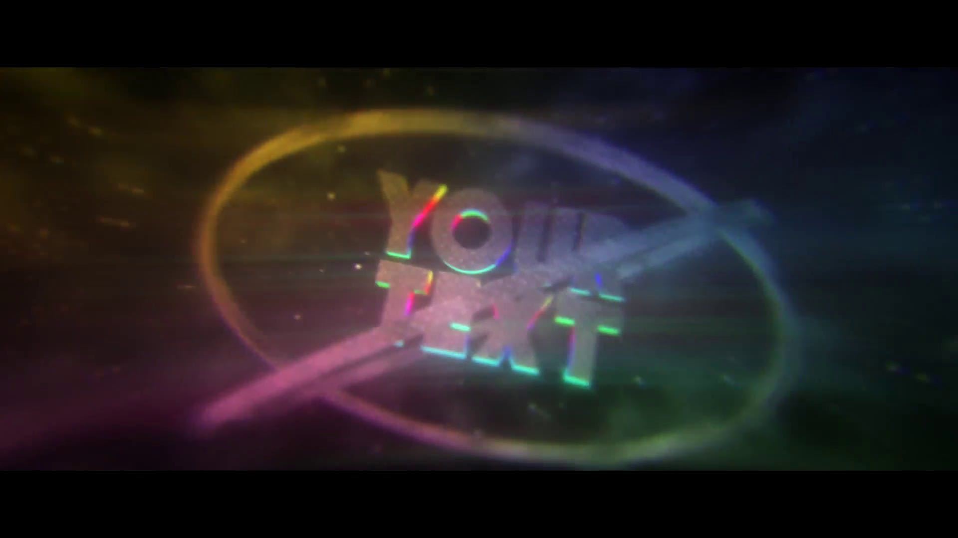 Awesome Rainbow After Effects Cinema 4D Intro Template FREE DOWNLOAD