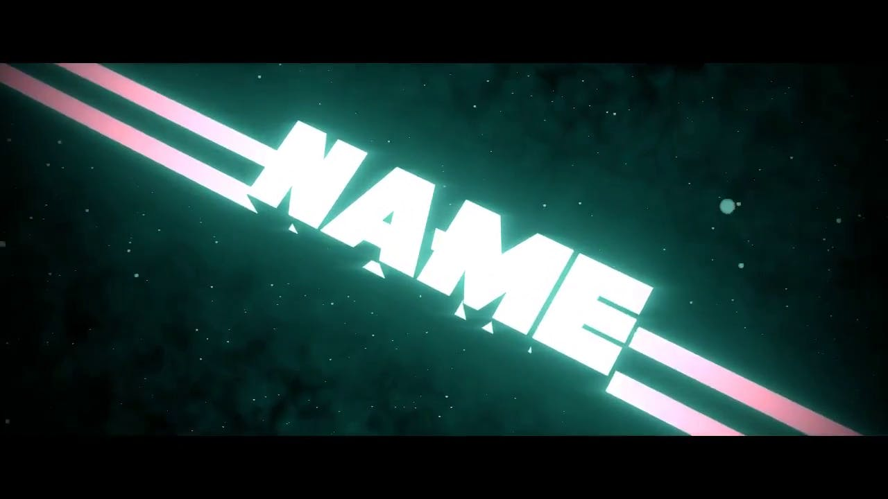 3D Chill Blender Shockwave Intro Template FREE DOWNLOAD