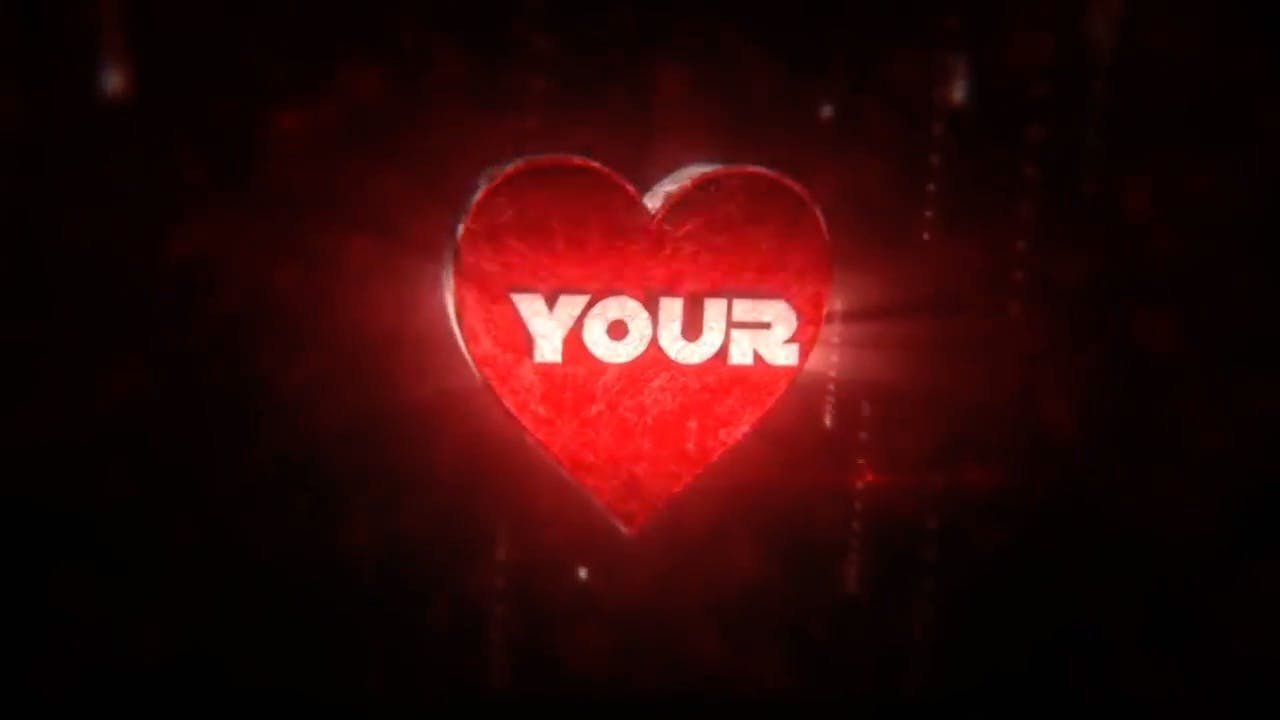 Valentines Day Cinema 4D After Effects Intro Template FREE DOWNLOAD