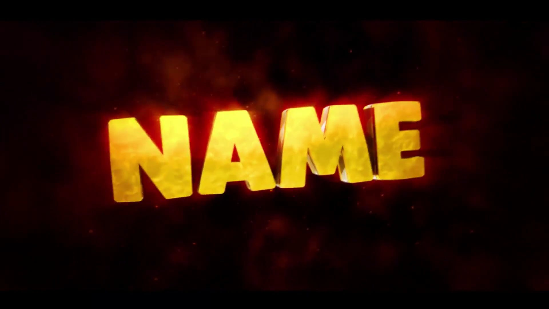 Gold Yellow Swirls Cinema 4D After Effects Intro Template FREE DOWNLOAD