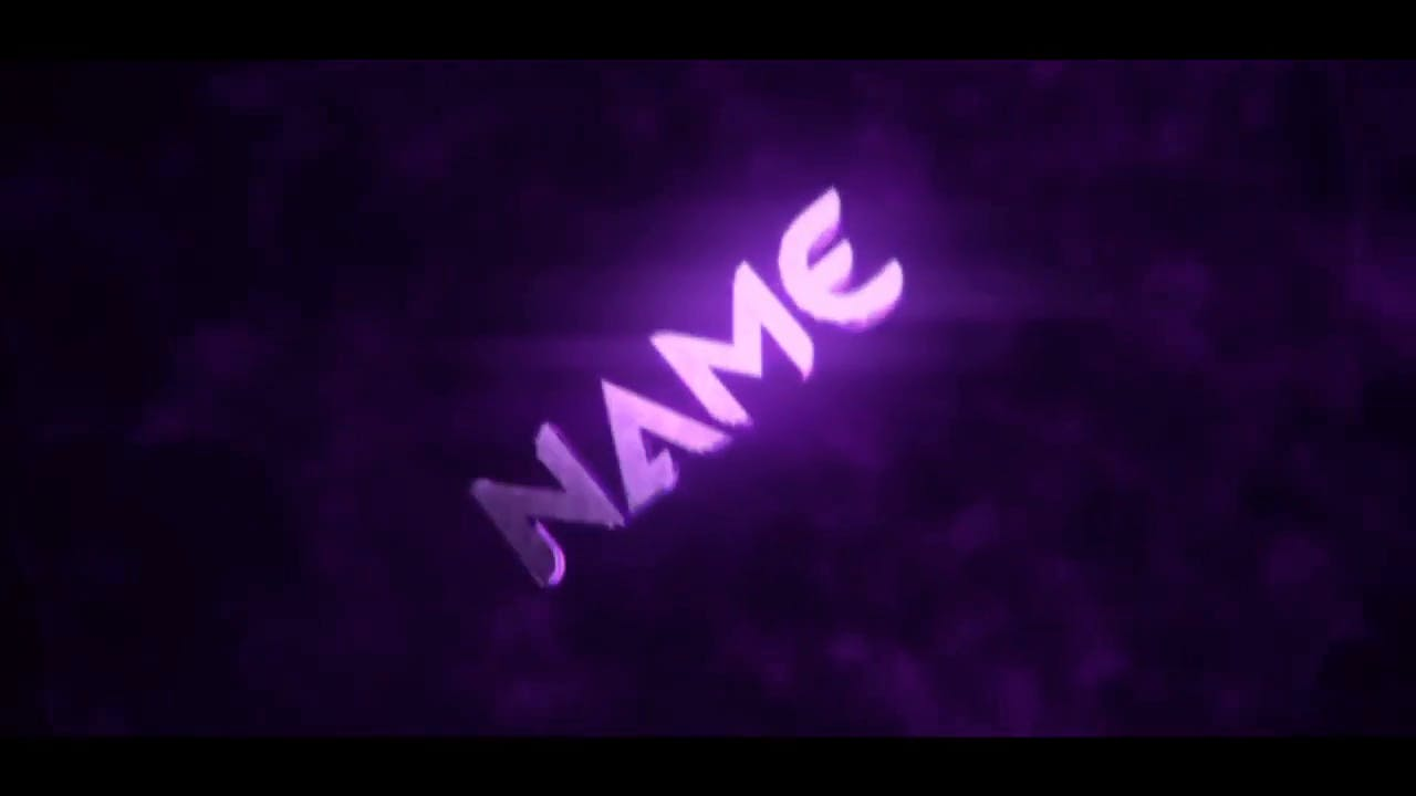 Purple Chill Intro Template Cinema 4D After Effects FREE DOWNLOAD