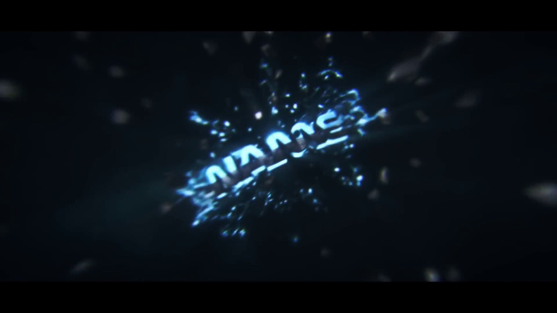 Fracture Particles Cinema 4D After Effects Intro Template FREE DOWNLOAD