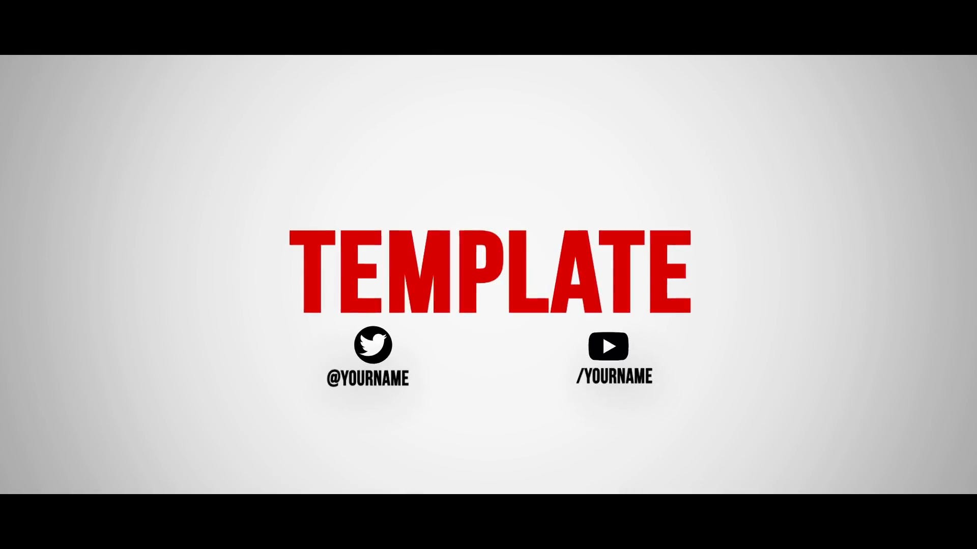 Netflix Style Cinema 4D After Effects Intro Template FREE DOWNLOAD