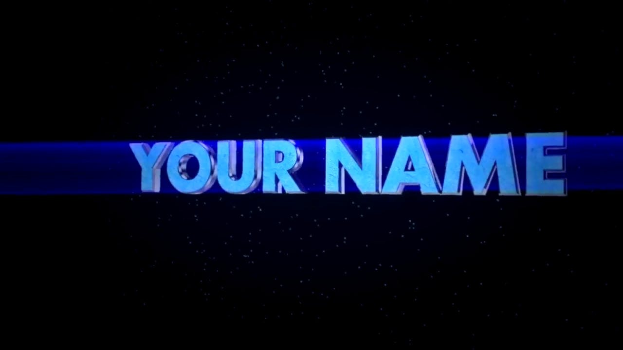 Blue Sony Vegas Cinema 4D Intro Template FREE DOWNLOAD
