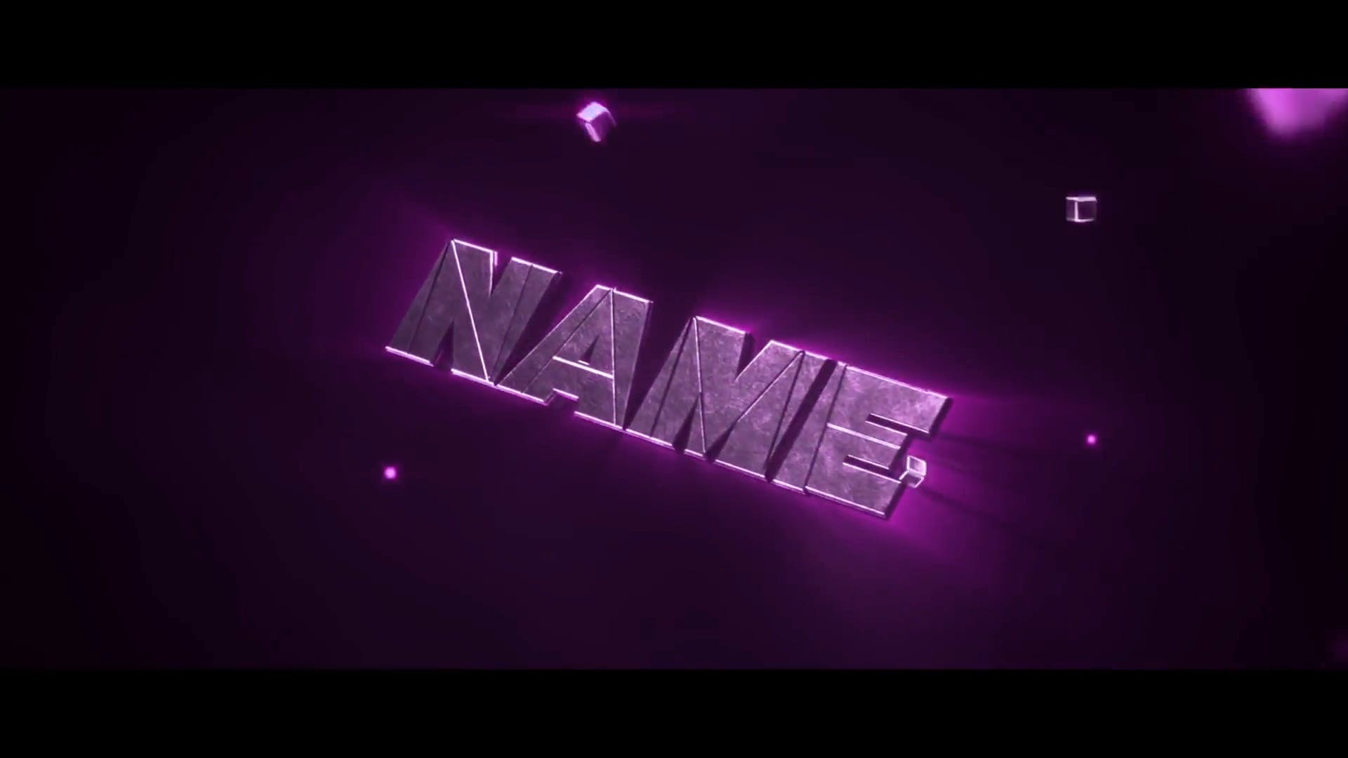 Purple Squares Intro Template Cinema 4D After Effects FREE DOWNLOAD