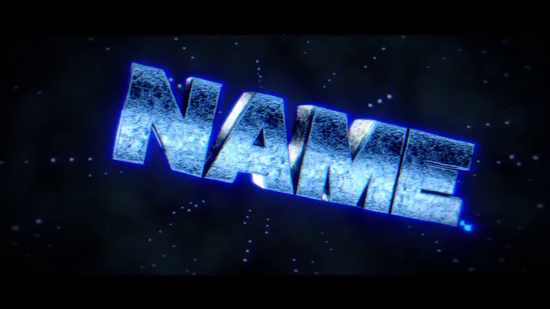 Sparks Blue Blender ONLY Intro Template FREE DOWNLOAD