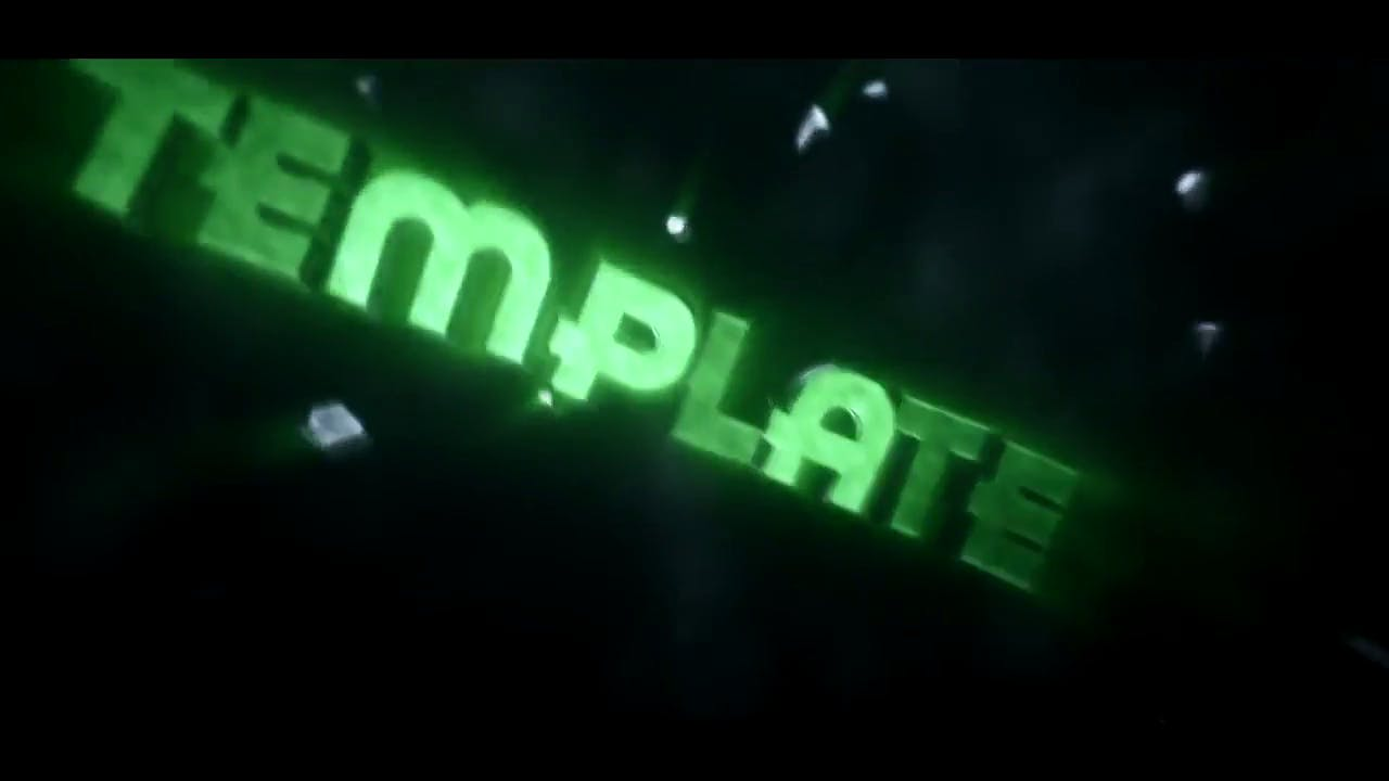 GREEN Shockwave Intro Template Cinema 4D After Effects FREE DOWNLOAD