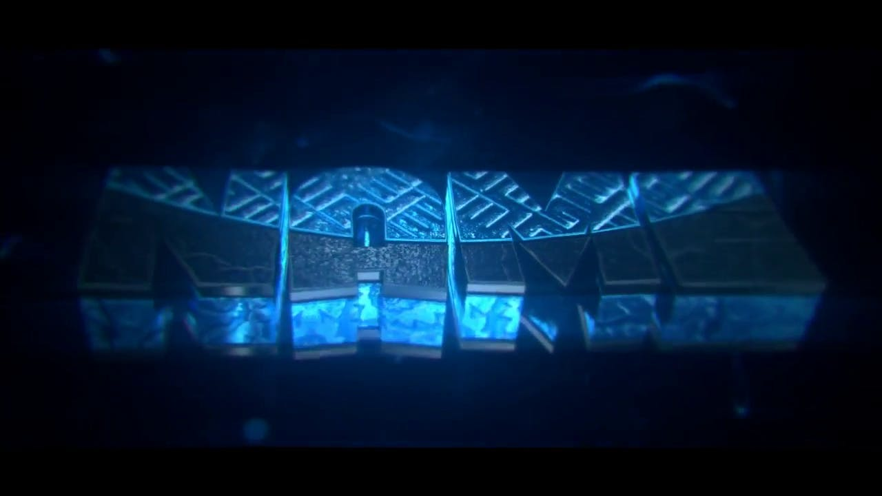 Blue Genes Intro Template C4D AE EVERYTHING INCLUDED FREE DOWNLOAD