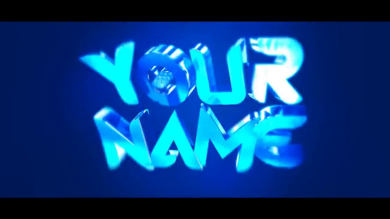 Baby Blue Cinema 4D After Effects Intro Template FREE DOWNLOAD