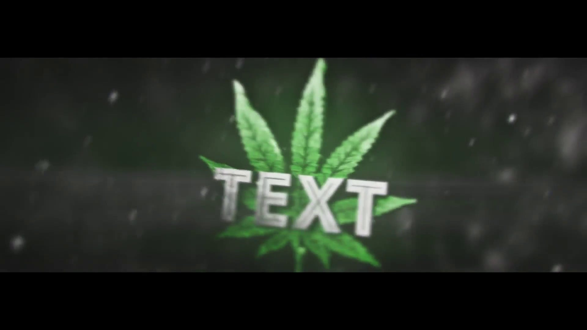 Awesome Sync 3D Weed Intro Template Cinema 4D After Effects FREE DOWNLOAD