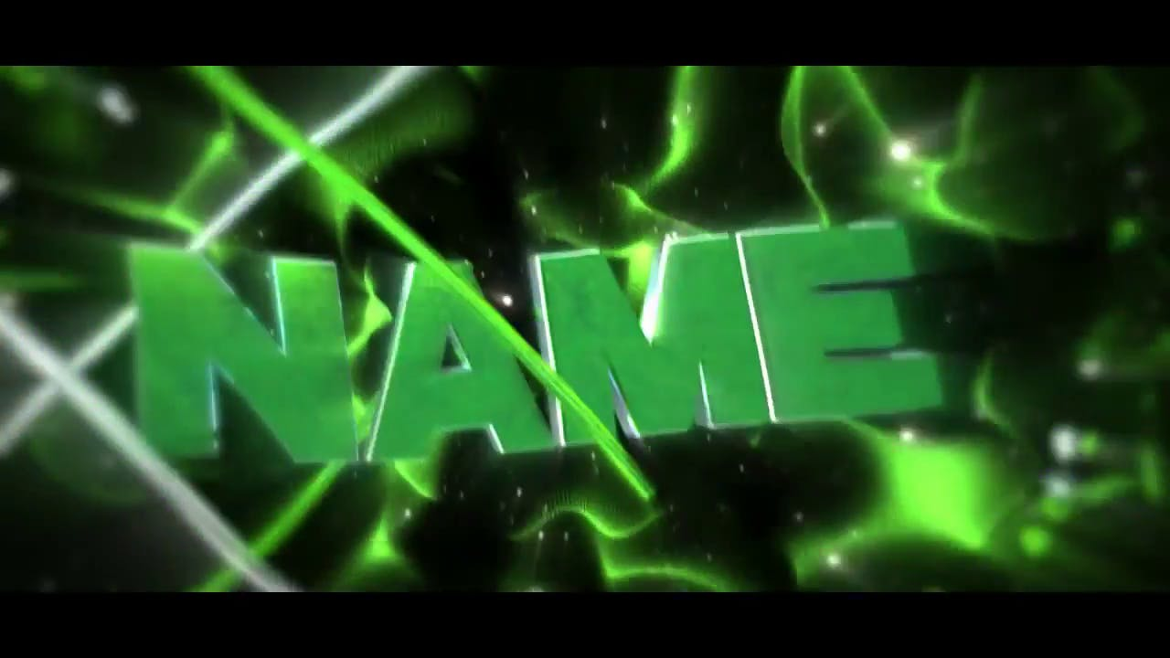 AMAZING Green Lightening Intro Template After Effects Cinema 4D