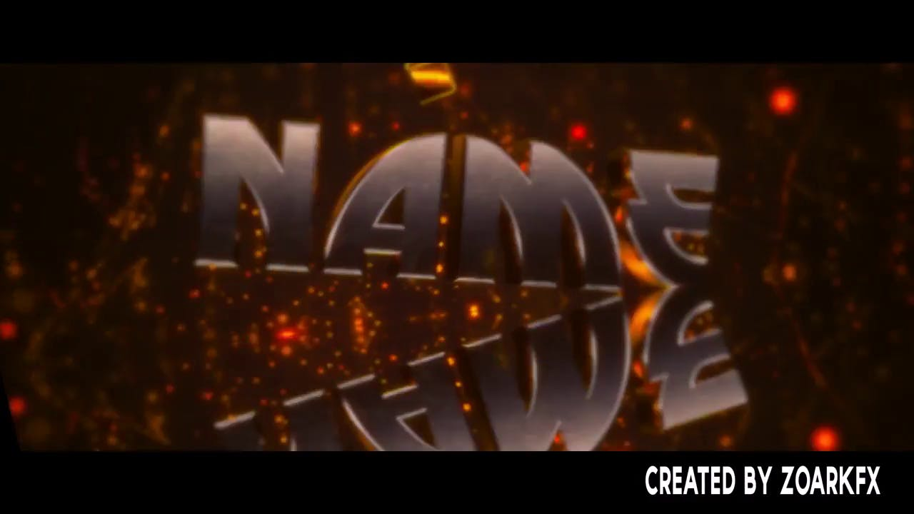 Free Yellow Gold Intro Template Free Download