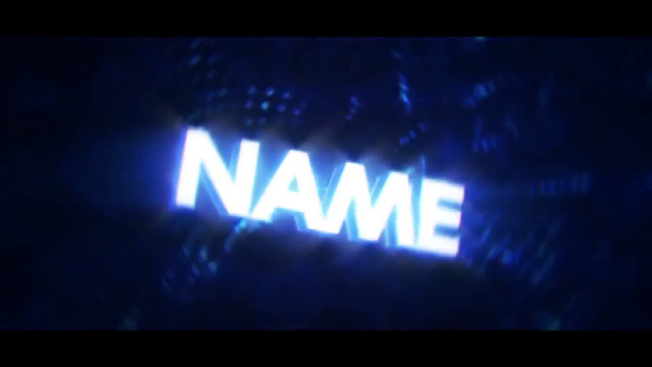 White and Blue Sync Pumps 3D Intro Template