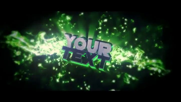 Unique And Funky Free After Effects Cinema 4d Intro Template