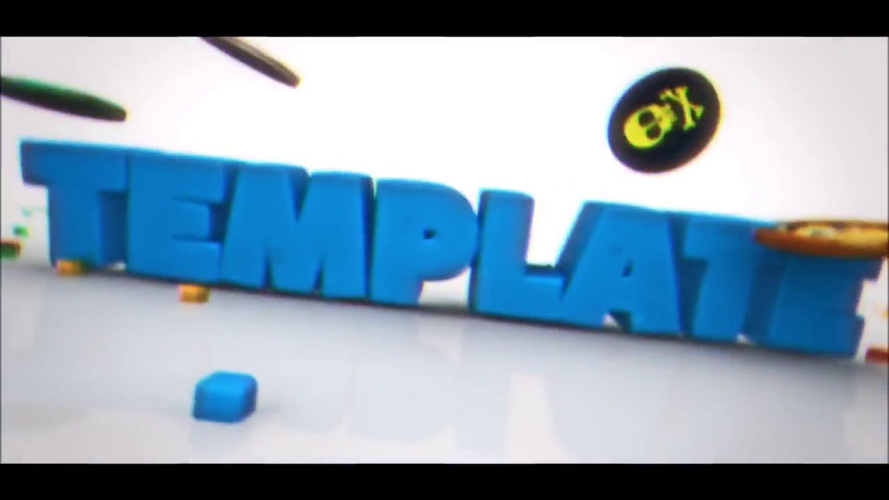 Agario Cinema 4D After Effects Intro Template FREE DOWNLOAD
