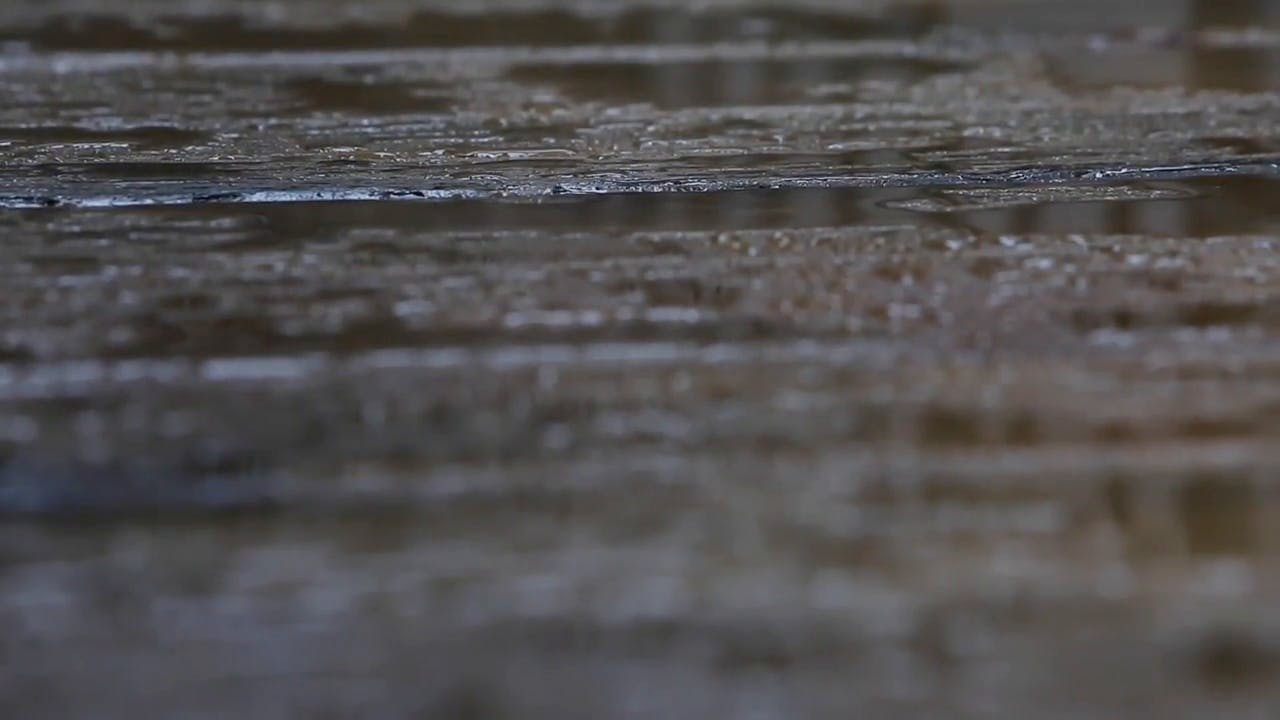 Rainy Weather Raindrop Stock Footage