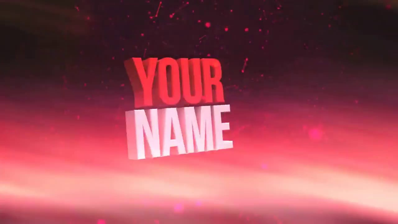 Sony Vegas Pro and Cinema 4D Free 3D Red Intro Template (with tutorial)