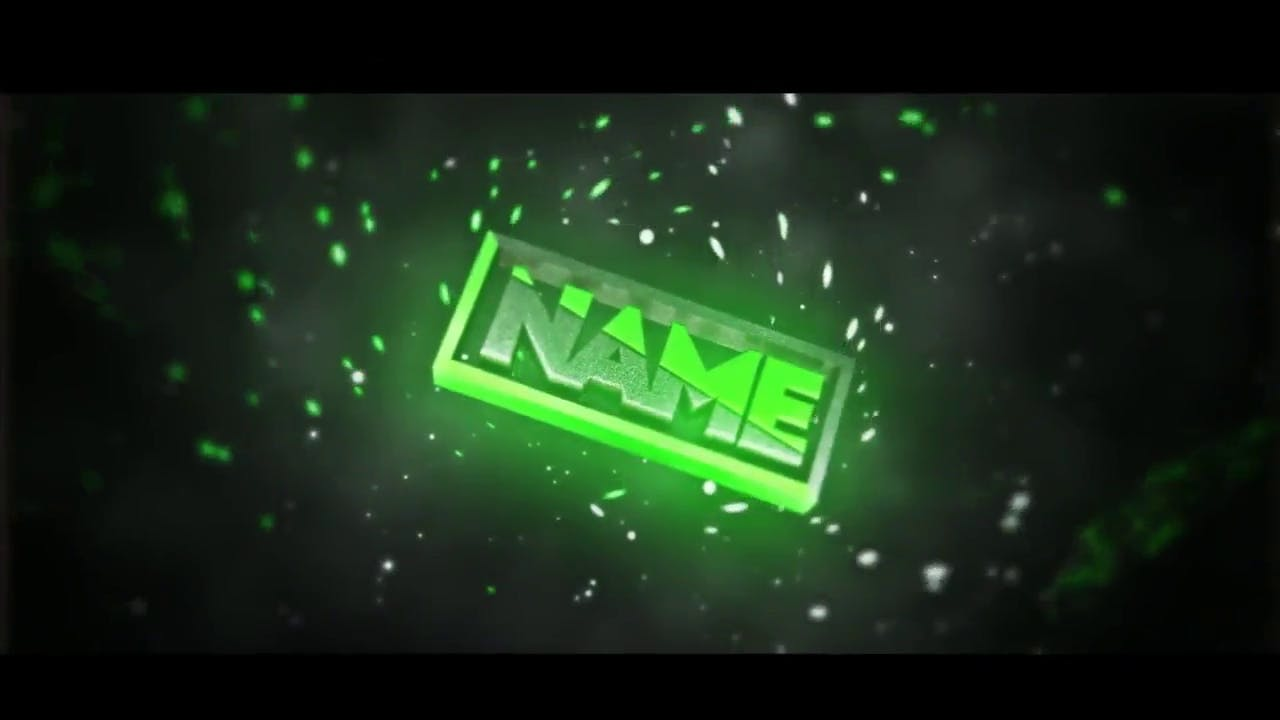 Green Sync Particles Intro Template FREE DOWNLOAD