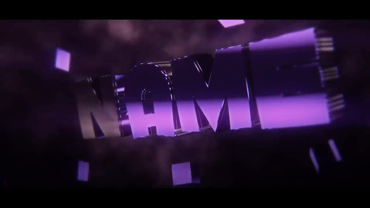 Purple Sync Blender Intro Template FREE DOWNLOAD